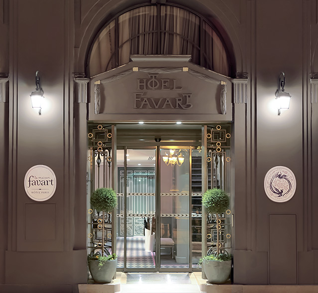 La maison favart hotel in paris address for Paris hotel address